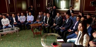 Клуб молодых предпринимателей в Шымкенте