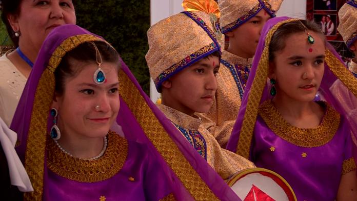 Шымкентские дети участвуют в конкурсе