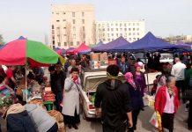 Продовольственная ярмарка в Шымкенте