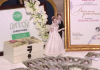 В Шымкенте впервые прошла свадебная выставка