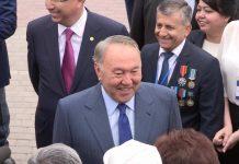 Нурсултан Назарбаев в Шымкенте