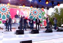 Хор Турецкого спел в Шымкенте на казахском языке