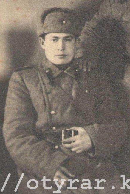 Мангутов Фарит Хасанович старшина 1945