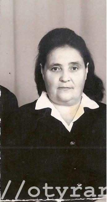 Чуклова Алия Менгажетдиновна в 1971 году