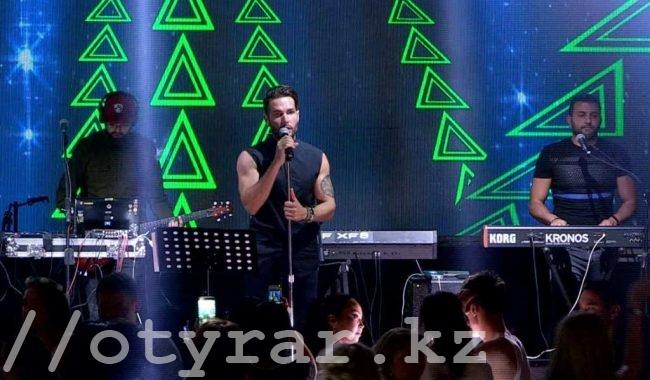 """Группа """"Morandi"""" выступила в Шымкенте"""