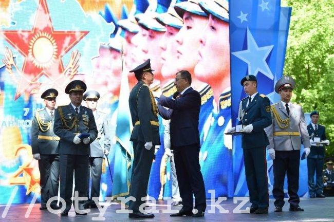 День защитника Отечества в Шымкенте