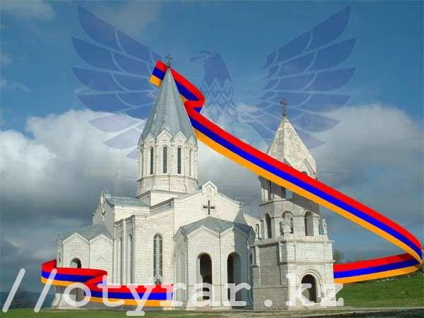 Лента Победы в Армении