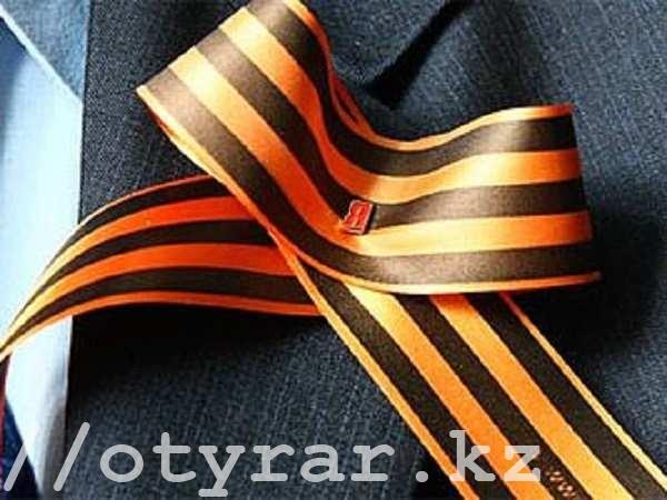 Российский символ победы - Георгиевская лента