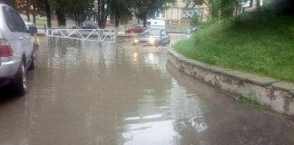 Потоп в Шымкенте