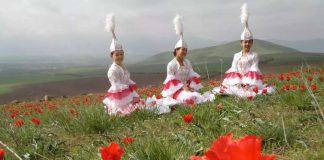 Девушки в поле