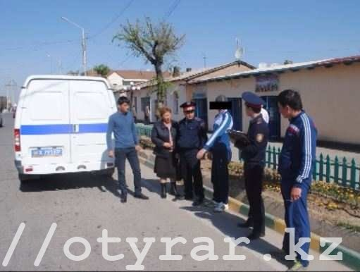 Карманного вора задержали в Туркестане