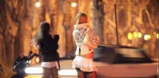 Проститутки на улице