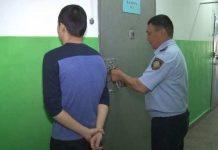 Задержанный в Туркестане домушник