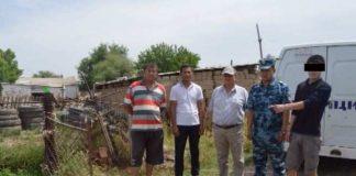 Сотрудники милиции ЮКО задержали преступную группу скотокрадов