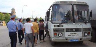 В ЮКО полицейские выявили более тысячи нарушителей миграционного законодательства