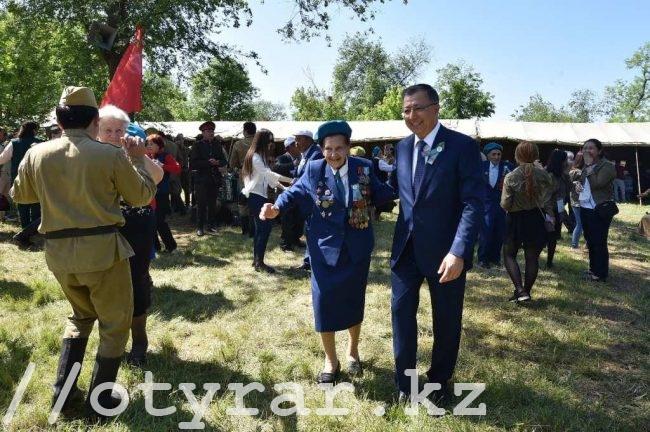 День Победы в Шымкенте - полевая кухня