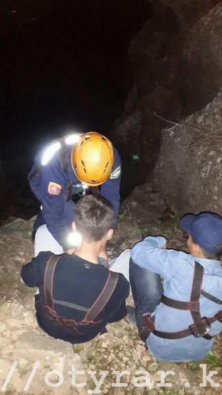 парней в горах спасли спасатели