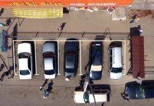 Парковка для такси на Колосе