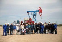 Нефтяная вышка в Кызылорде (ПККР)