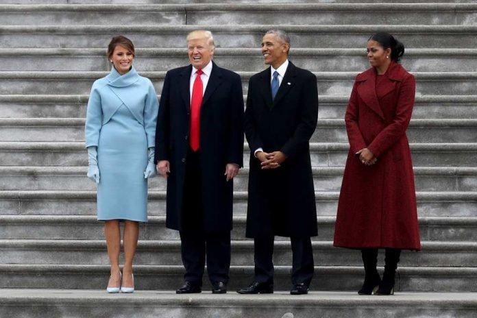 Президенты с женами