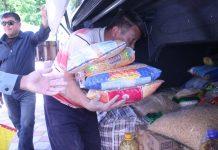 Гуманитарная помощь из Шымкента