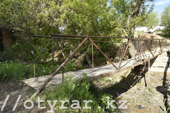 Старый мост по ул. Жандосова