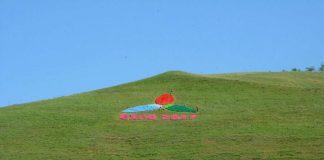 На перевале Казыгуртского района установлен логотип EXPO-2017