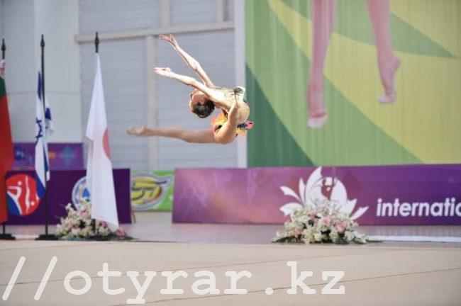 В Шымкенте стартовал международный турнир по художественной гимнастике