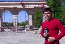 В сайрамском парке Наурыз подходит к концу капитальный ремонт