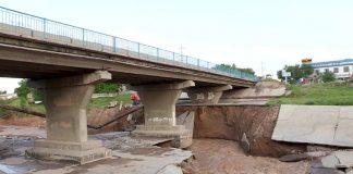 Подмыв моста в ЮКО опасности для транспортного движения не представляет