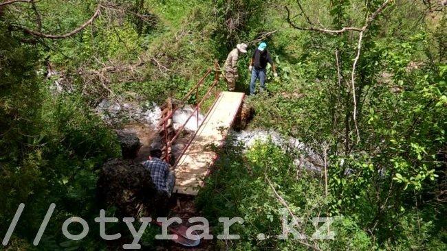 Заняться строительством мостов через Сайрам-Су призывают неравнодушные люди