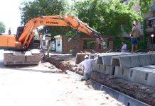 В Шымкенте на 10 центральных улицах начались работы по замене ирригационной системы