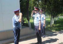 Один день из жизни шымкентского полицейского
