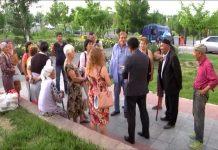 В Шымкенте районный акимат штурмовали жители жилого массива Бозарык