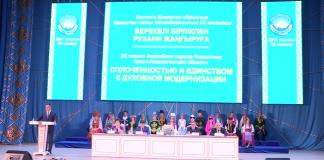 20-ая юбилейная сессия Ассамблеи народа Казахстана