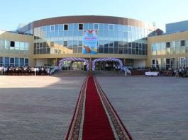 Назарбаев Интеллектуальная школа физико-математического направления в г. Шымкент