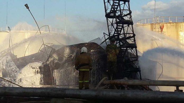 Пожар локализован в Шымкенте