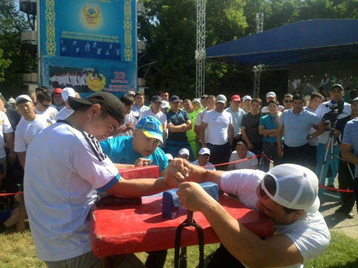 В Шымкент съехались 1000 самых спортивных полицейских ЮКО