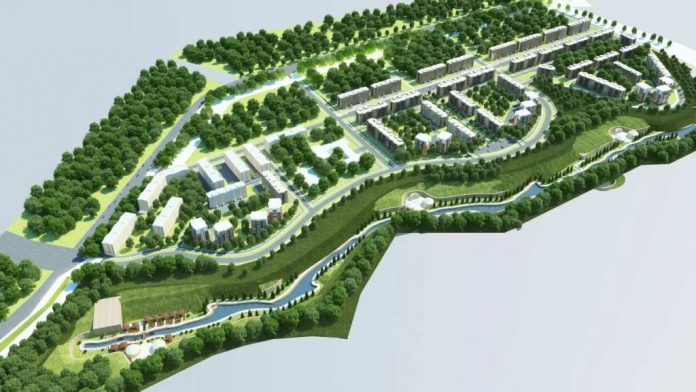 Проект нового микрорайона вдоль Кошкараты