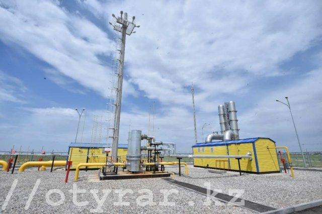Автоматическая газораспределительная станция в Ордабасинском районе