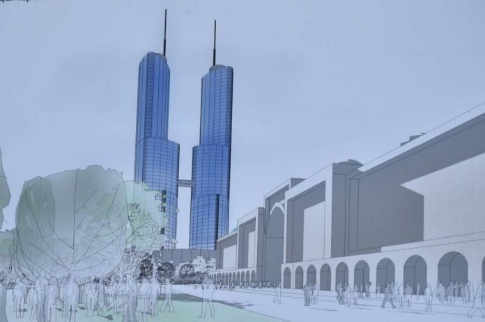 В Шымкенте возведут 57-этажные небоскребы