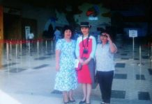 Учительница Лиза в Астане