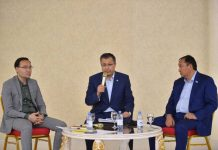 Аким ЮКО призвал бизнесменов внести вклад в возрождение родной земли