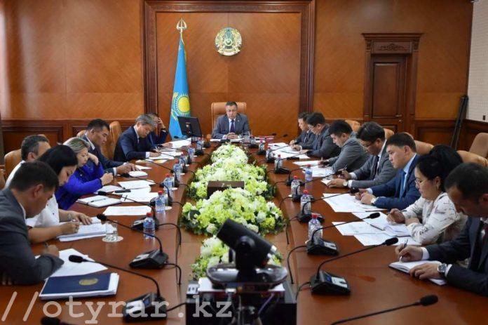 Селекторное совещание в режиме онлайн в Акмолинской области с участием главы Правительства Бакытжана Сагинтаева
