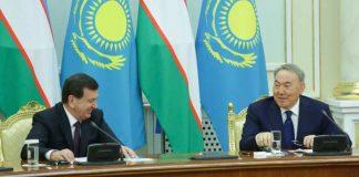 Шавкат Мирзиеев и Нурсултан Назарбаев