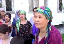 Многодетные матери Кентау штурмовали городской акимат