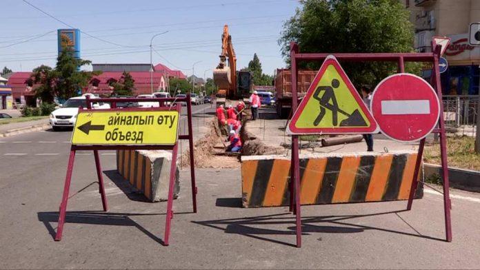 Движение автотранспорта по улице Байтурсынова будет ограничено всё лето