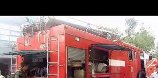 Пожар в частном доме Шымкента едва не уничтожил крупный ресторан