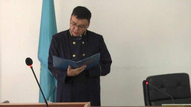 Оглашение приговора жителю Ордабасинского района за наркоторговлю