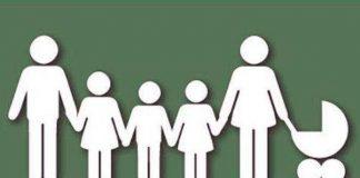Многодетные семьи. Картинка